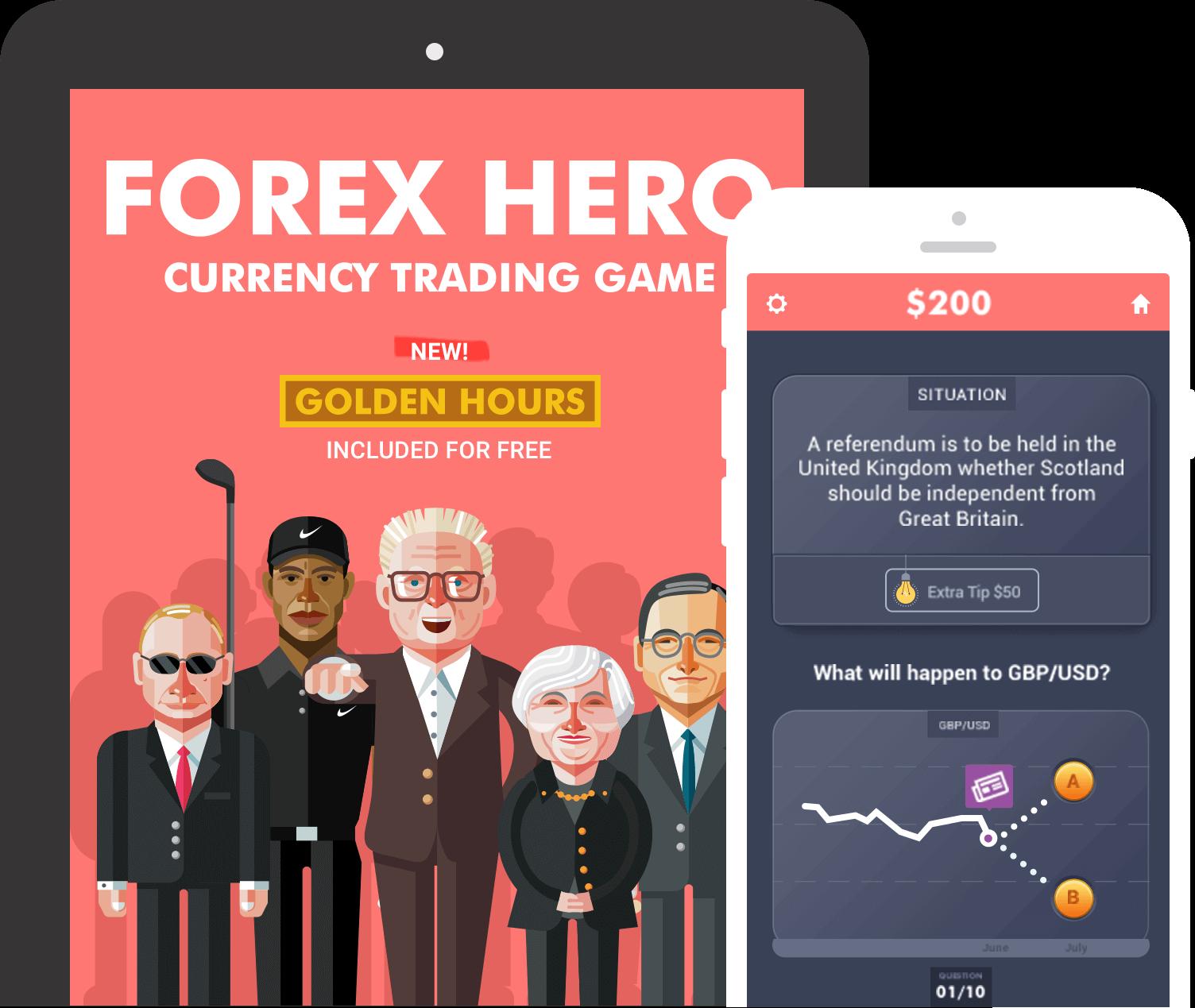 Forex simulator app